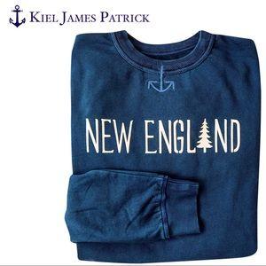 Kiel James Patrick Navy The New England Sweatshirt